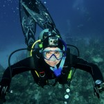 A scuba diver's eyes are the key to a successful scuba diver portrait
