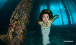 Stunning photos by Turtle&Ray Productions featuring underwater models.