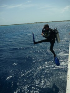 Tim Tetlow - a true scuba diving Guitar Hero!